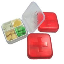 A PillBox: a box in which pills are stored